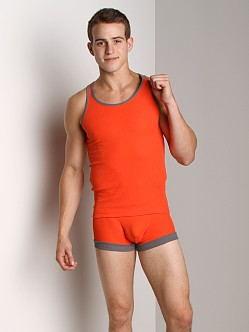 N2N Quantum Tank Top Spicy Orange