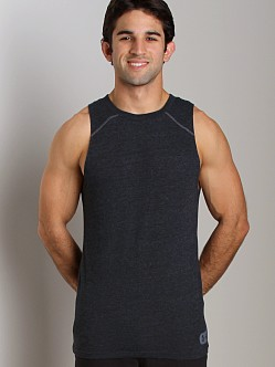 Under Armour Charged Cotton Contender Tank Asphalt Heather