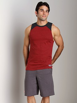 Under Armour Charged Cotton Contender Tank Red