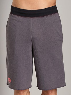 Under Armour Charged Cotton Contender Short Carbon Heather