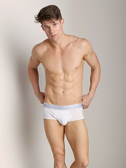 Calvin Klein Superior Cotton Square Cut White
