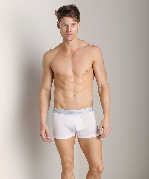 Calvin Klein Superior Cotton Trunk White