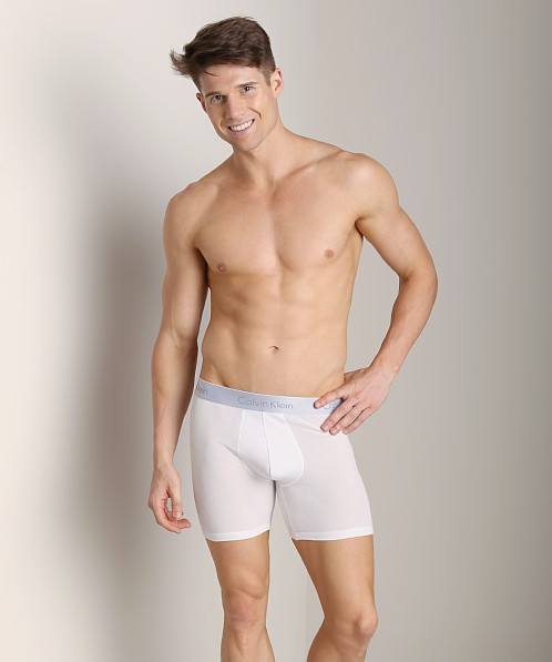 Calvin Klein Superior Cotton Boxer Brief White