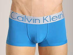 Calvin Klein Steel Micro Low Rise Trunk Wattage Blue