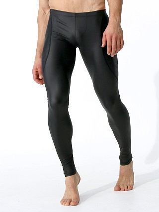Rufskin Kang Rubberized Stretch Leggings Black