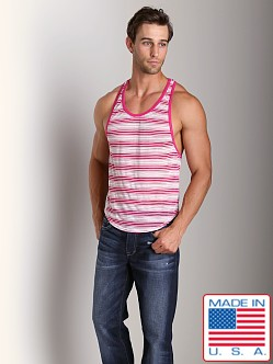Go Softwear Synergy Athletic Tank Top Fuchsia
