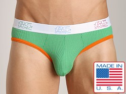 Go Softwear Cut-Out Brief Green/Orange
