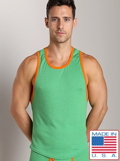 Go Softwear Pop Mod Scoop Tank Green/Orange