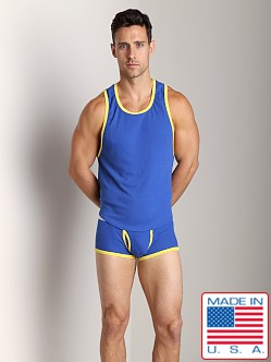 Go Softwear Pop Mod Scoop Tank Royal/Lemon