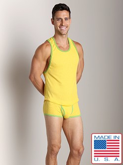 Go Softwear Pop Mod Scoop Tank Yellow/Lime