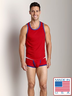 Go Softwear Pop Mod Scoop Tank Red/Royal