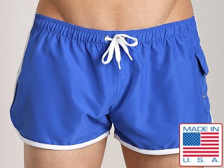 Go Softwear Surf Rider Swim Short Royal/White