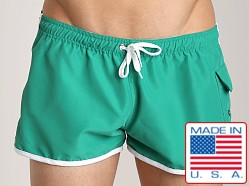Go Softwear Surf Rider Swim Short Shamrock/White