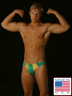 Go Softwear Green Men's Bikini