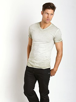 G-Star Neigan Relaxed V-Neck Shirt Grege Green