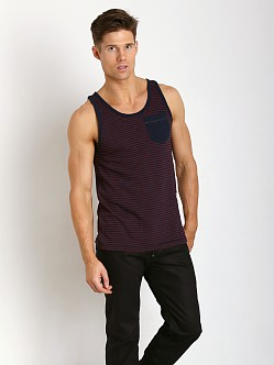 G-Star Omaros Volta Stripe Tank Top Fig