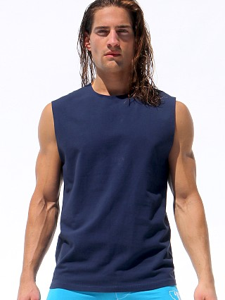 Complete the look: Rufskin Calicotton Zogo Muscle Shirt Navy