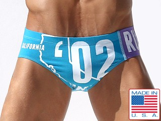 Rufskin Calicotton Yoyo Euro Brief Turquoise/Purple