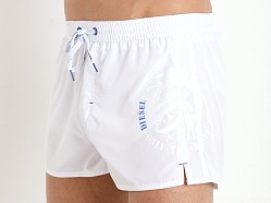 Diesel Coralrif Swim Shorts White