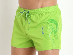 Diesel Coralrif Swim Shorts Lime Green