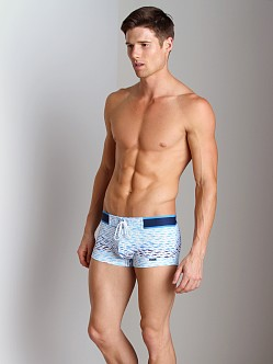 2xist School Of Fish Cabo Swim Trunk White