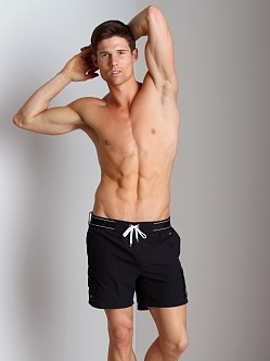 2xist Camper Swim Shorts Black