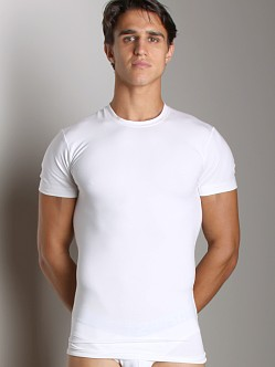 2xist Form Slimming Crew Neck Shirt White