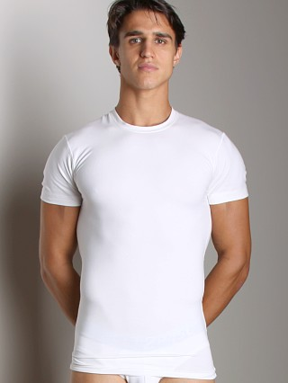 Complete the look: 2xist Form Slimming Crew Neck Shirt White