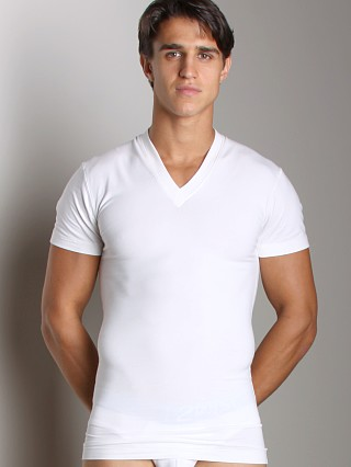 Complete the look: 2xist Form Slimming V-Neck Shirt White