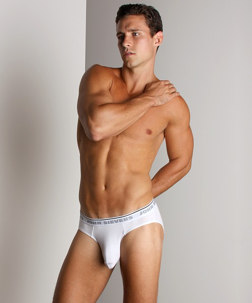 John Sievers Natural Pouch Brief White