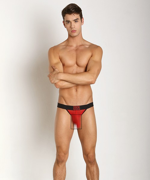 Jack Adams Power Lifter Jock Brief Black/Red