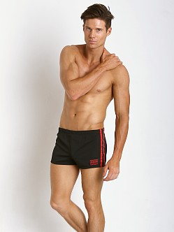Jack Adams Union Short Black/Red