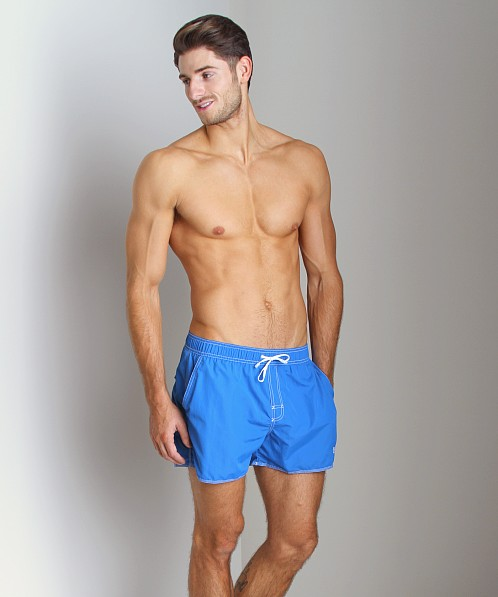 Hugo Boss Lobster Swim Shorts Royal Blue