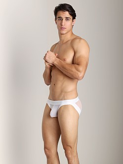 Mckillop Elevate Mesh Butt Lift Brief White