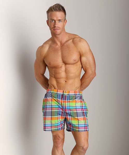 Hugo Boss Ribbonfish Swim Shorts Red