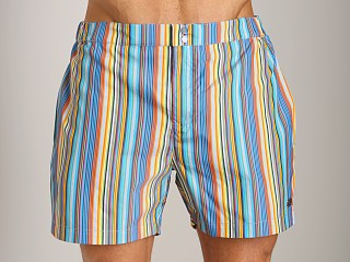 Hugo Boss Ribbonfish Swim Shorts Green