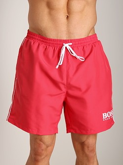 Hugo Boss Starfish Swim Shorts Red