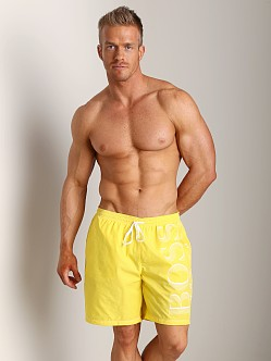 Hugo Boss Killifish Swimsuit Yellow