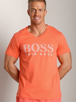 Complete the look: Hugo Boss V-Neck Shirt Orange