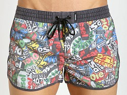 Diesel Pop Art Reef-30 Swim Shorts Multi