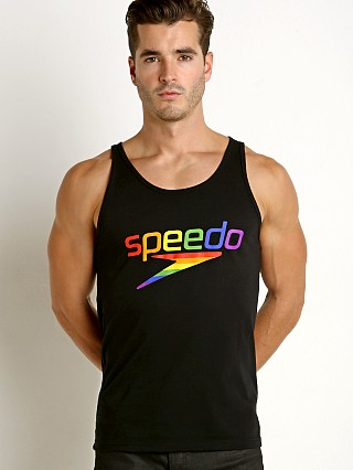 You may also like: Speedo Rainbow Pride Tank Top Black/Rainbow
