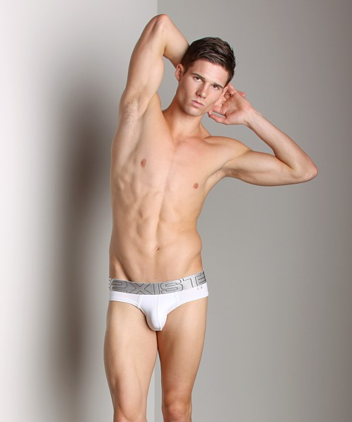 2xist Military No-Show Brief White