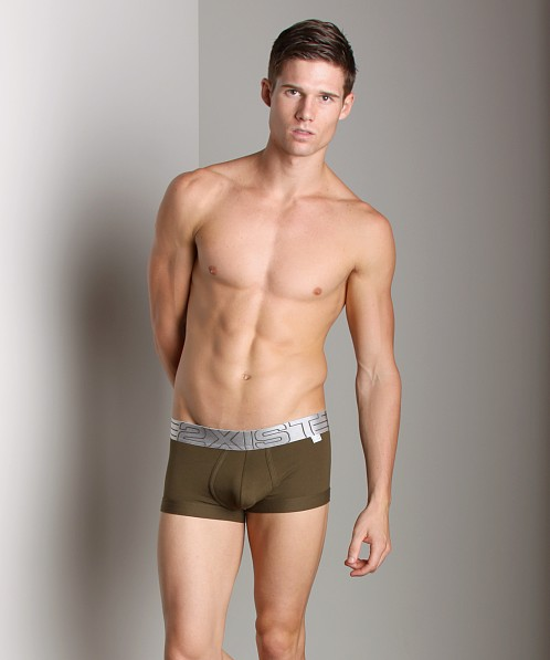 2xist Military No-Show Trunk Army Green