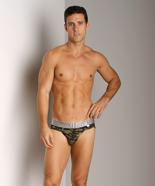 2xist Military Sport Brief Green Camo