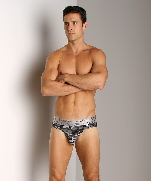 2xist Military Sport Brief Black Camo