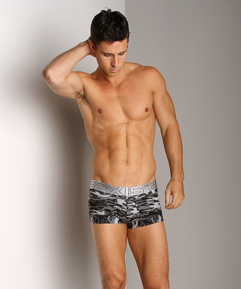 2xist Military No-Show Trunk Black Camo