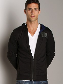 G-Star Fuel Hooded Cardigan Black