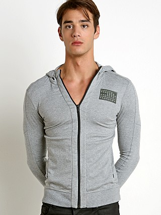 G-Star Fuel Hooded Cardigan Grey Grain