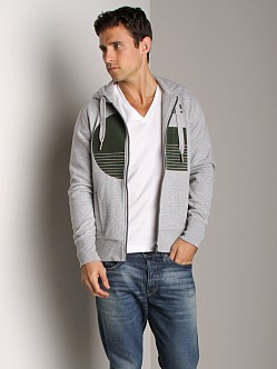 G-Star Parkin Hooded Vest Grey Heather