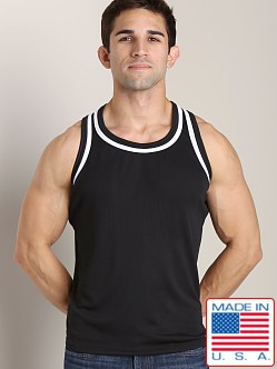 LASC Dry Fit Muscle Tank Black